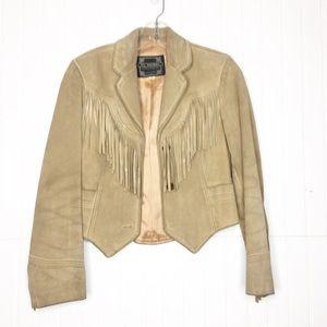 Vintage | Suede Fringe Jacket